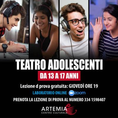 Laboratorio di Teatro Online per Adolescenti