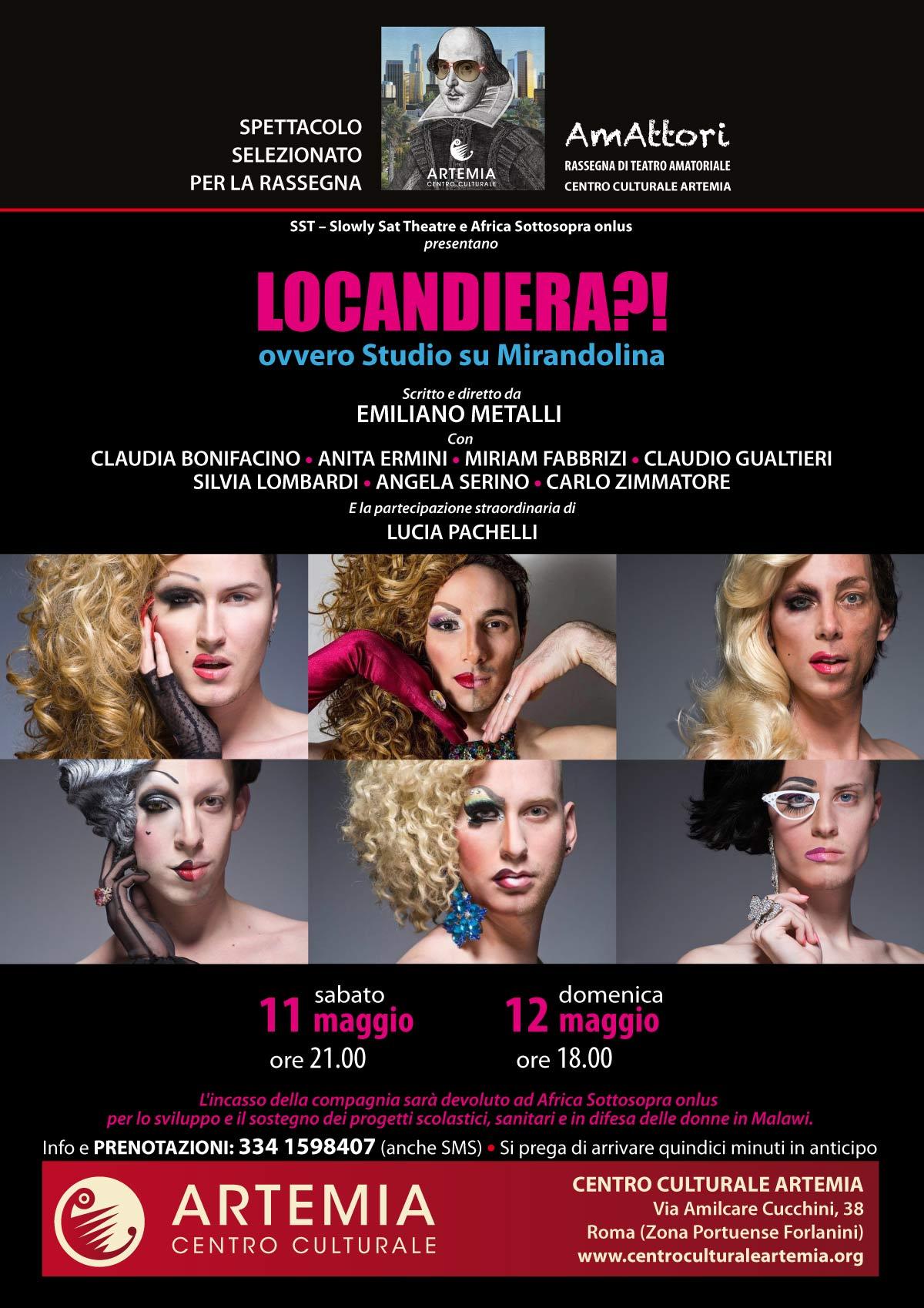Locandiera?! ovvero Studio su Mirandolina