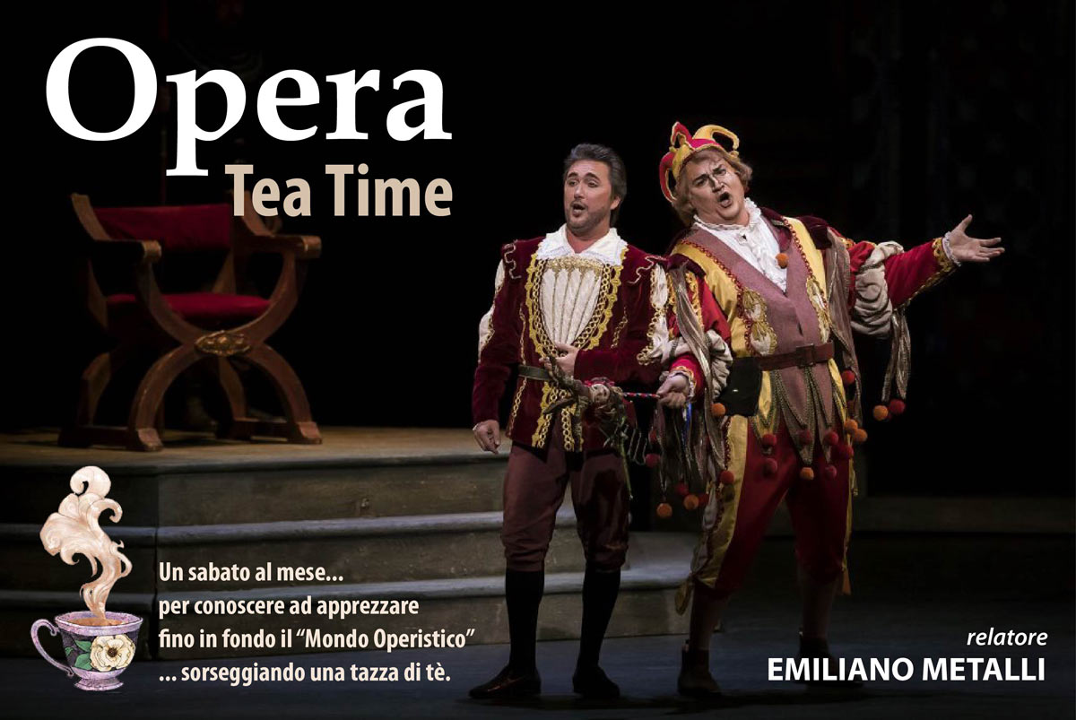 Opera Tea Time – NUOVO!