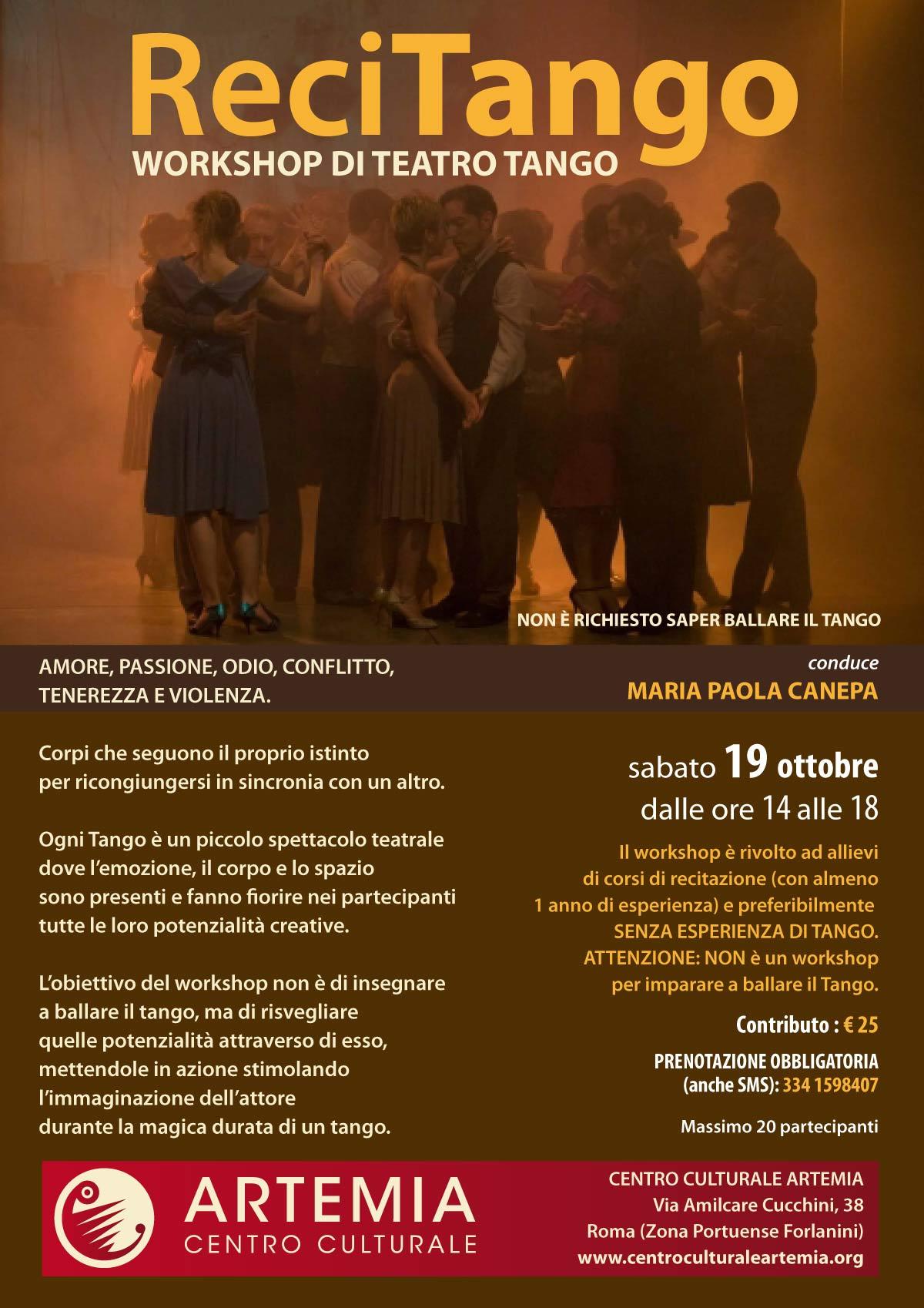 ReciTango – Workshop di Teatro/Tango