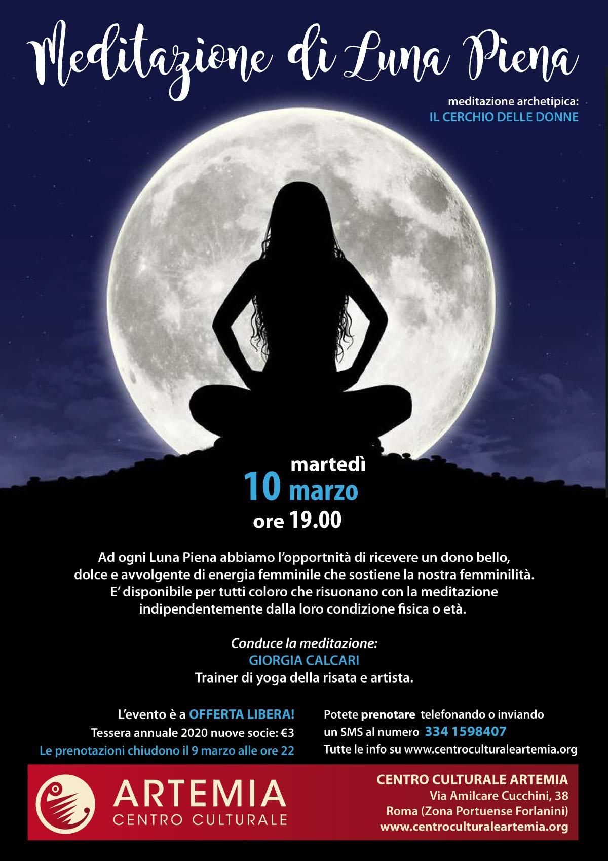 Meditazione di Luna Piena – Il Cerchio delle Donne
