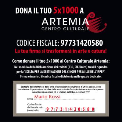 Dona il tuo 5×1000 ad Artemia