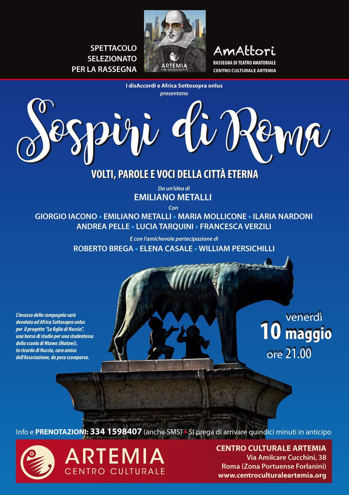 Sospiri di Roma – volti, parole e voci della città eterna