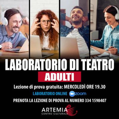 Laboratorio di Teatro Online per Adulti