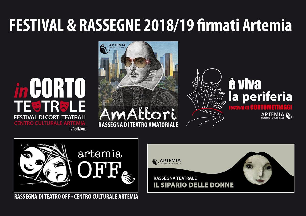 FESTIVAL & RASSEGNE 2018/19 firmate Artemia